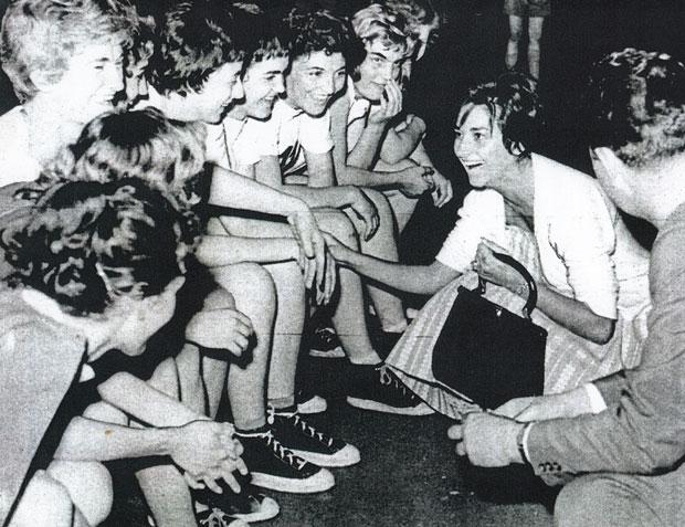 Љубица у Ла Коруњи са кошаркашицама Црвене звезде