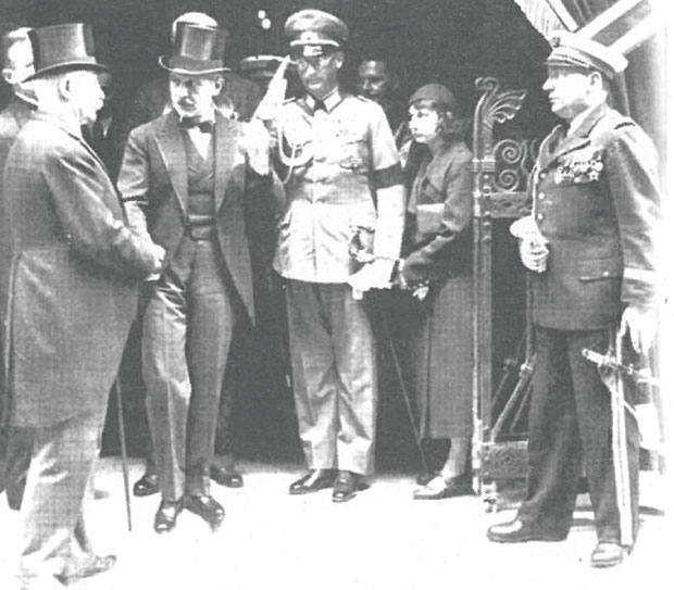 Ханс Шпајдел са  генералом Петеном