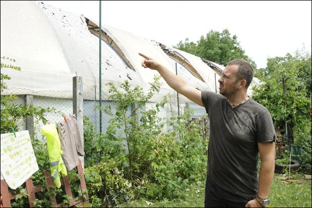 Лед је Драгану Исајловићу из Панчева уништио тениски балон