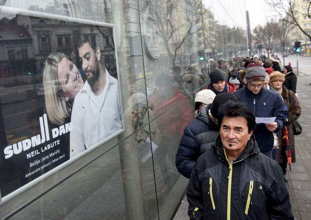Veliki broj Beograđana želeo je  da kupi ulaznice po ceni od 100 i 200 dinara