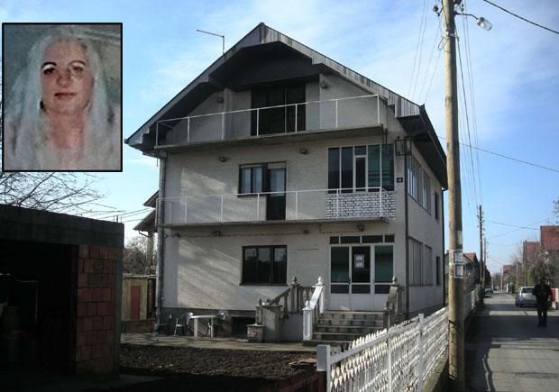 Foto: Pokojna Gordana i njena kuća u kojoj je ubijena/D. Novković