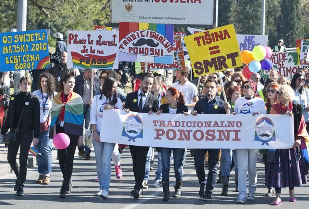 Припадници ЛГБТ заједнице траже једнакост Фото В. Кадић