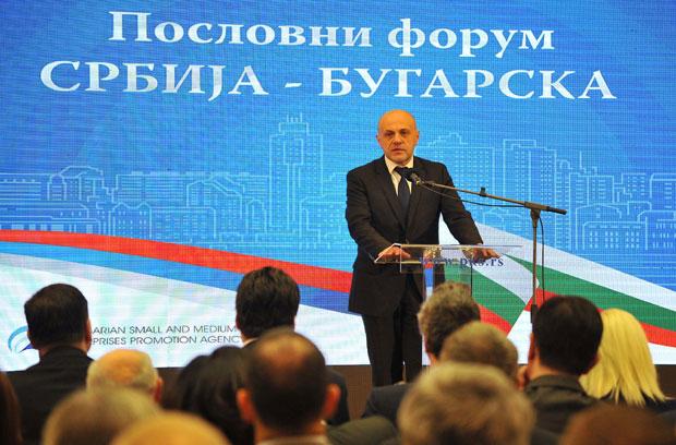 """POSLOVNI FORUM """"SRBIJA - BUGARSKA"""": Zajedničkim snagama do 3,5 milijardi evra"""