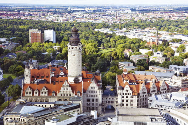 Panorama Lajpciga Shutterstock