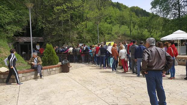 Resavsku pećinu za 1. maj posetilo 4.200 turista