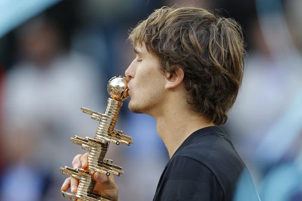 Aleksandar Zverev foto: Tanjug/AP