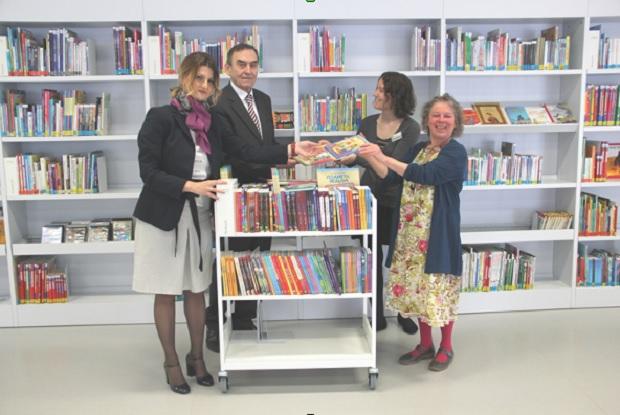 Biblioteke za srpsku decu