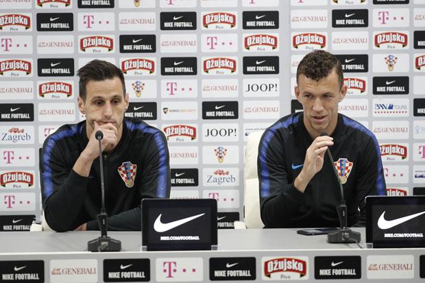 Nikola Kalinić i Ivan Perišić foto: EPA