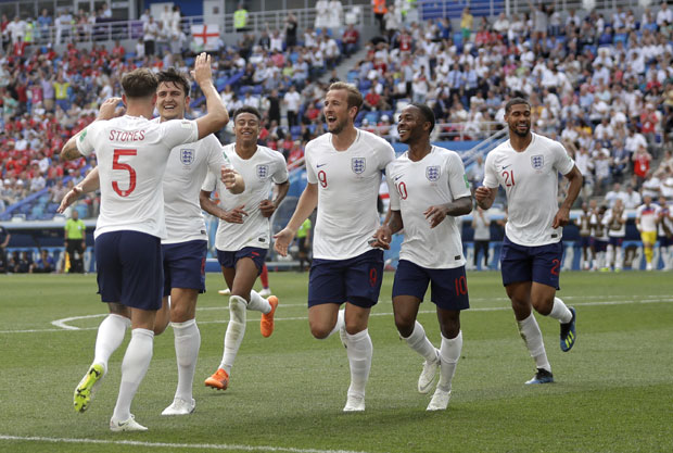 Slavlje fudbalera Engleske foto: Tanjug/AP