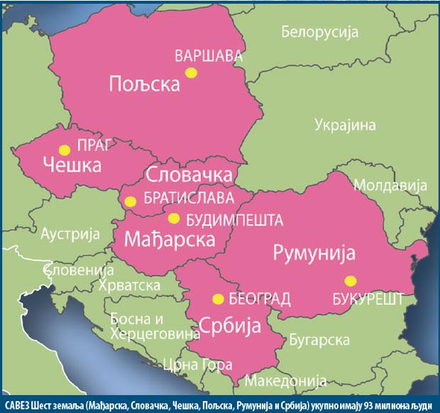 Mađarska I Srbija Karta Mađarske I Srbije Cu4d2cc33