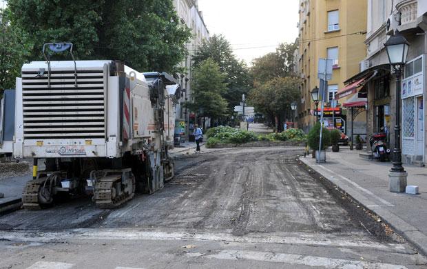 Obnova Strahinjica Bana Skadarlija Do Dusanove Beograd Novosti Rs