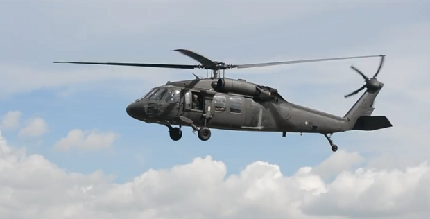 UH-60 Black Hawk; Foto: YouTube Printscreen