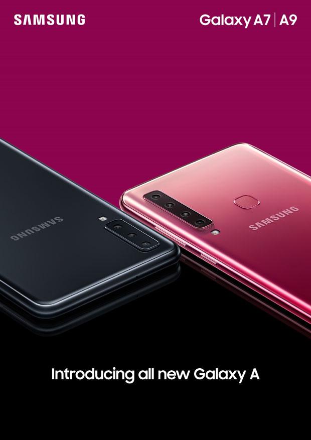 Samsung Galaxy A9 i A7 – telefoni sa moćnim kamerama