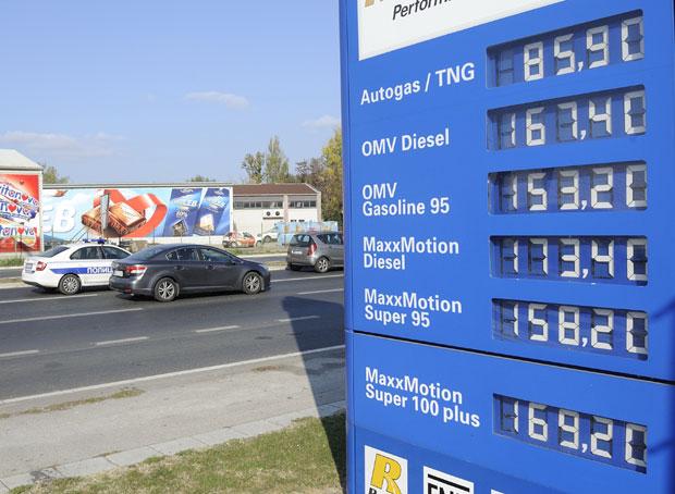 Cene goriva sada padaju