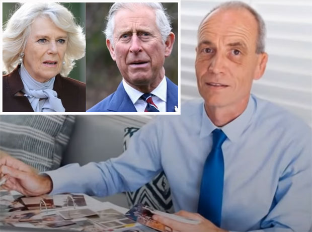 Sajmon Dorante-Dej tvrdi da je sin princa Čarlsa i Kamile Parker-Buols / Print screen Youtube