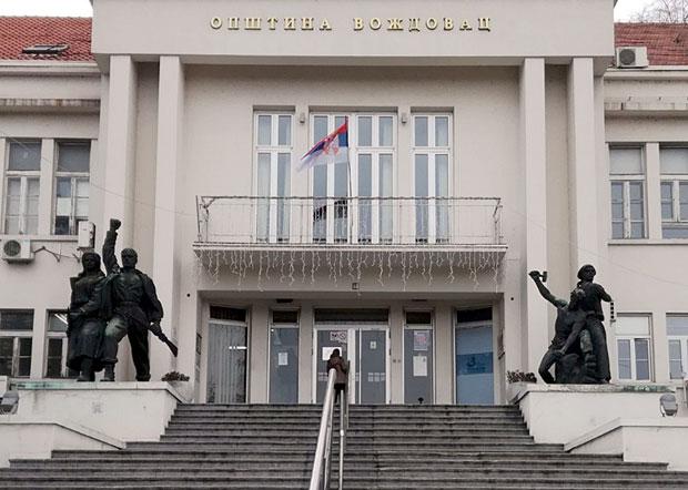 Borba I Obnova Ostaju Ispred Opstine Vozdovac Beograd