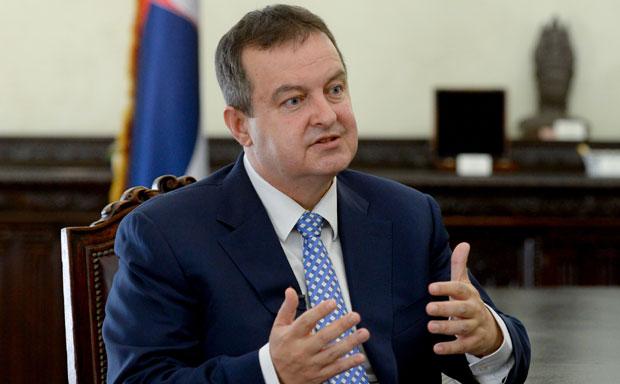Šef srpske diplomatije Ivica Dačić