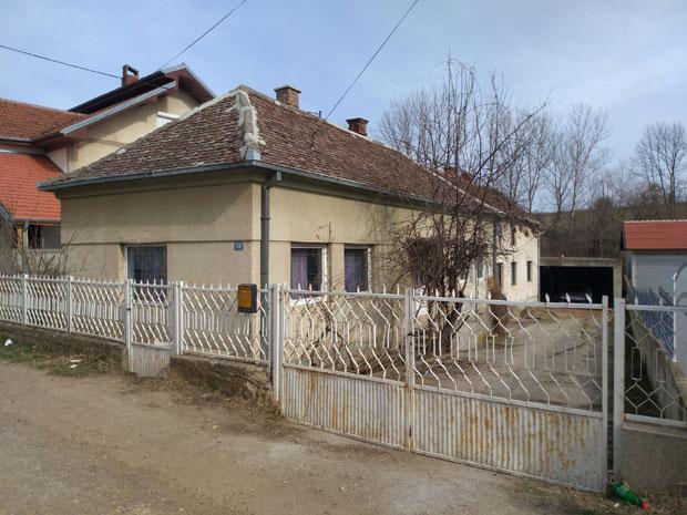 Kuća u kojoj je nađena beba
