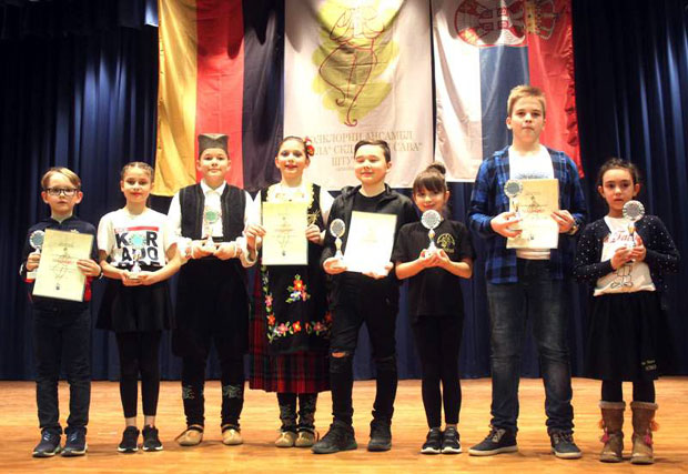 Mini folklorijada društva 'Sveti Sava' u Štutgartu