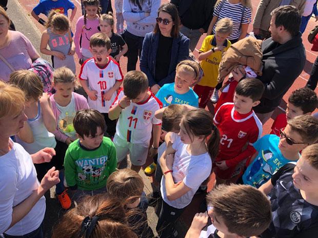 Četvrte  sportske igre Srpske dopunske škole u Parizu