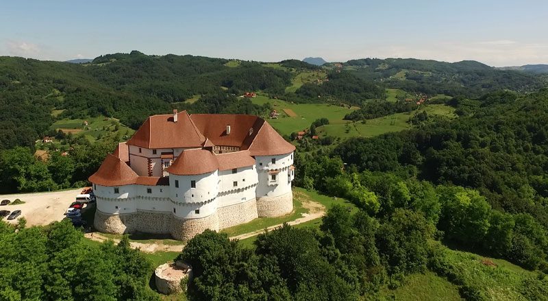 Od lekovitih termi do baroknih dvoraca