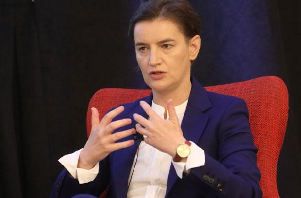 Brnabić: Srbija napreduje iz godine u godinu