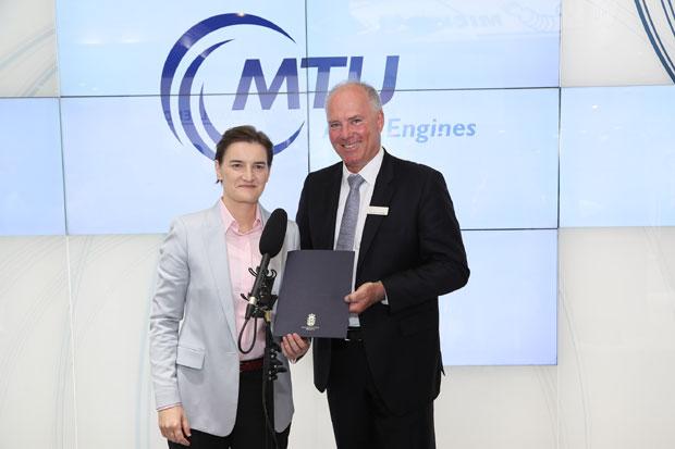 MTU gradi fabriku u Novoj Pazovi, početak proizvodnje 2022.