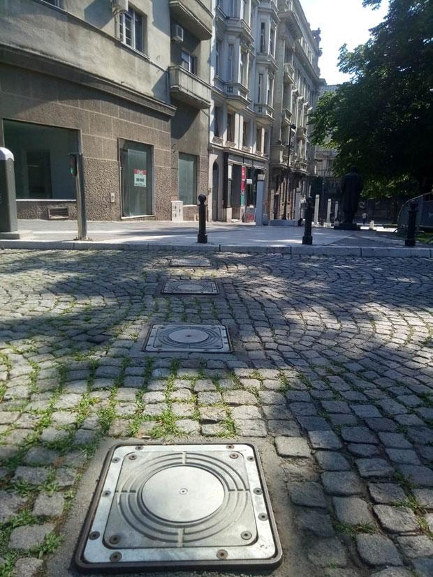 Pešačke zone u centru prestonice: Parking samo lokalnim stanarima, senzor 'čita' tablice