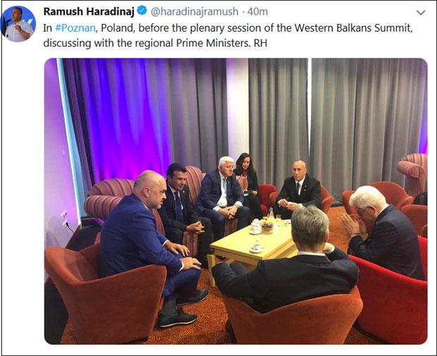 Брнабићка постала портпарол терористе Харадинаја