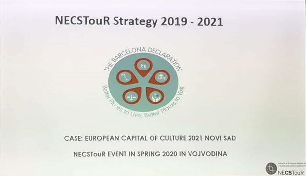 """Turistička organizacija Vojvodine na godišnjem Generalnom sastanku i Tematskoj konferenciji """"NECSTouR"""" mreže u Santa Kruzu"""