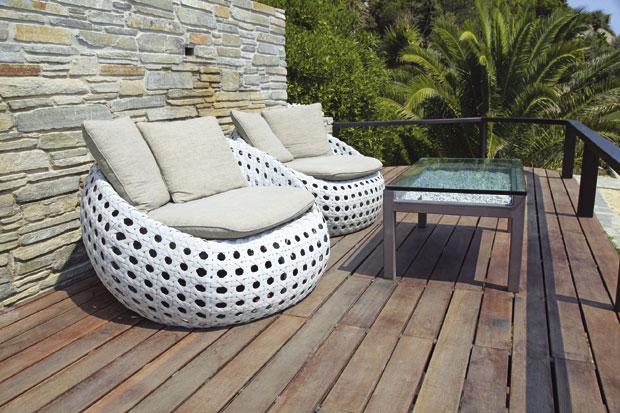 Bajkovito leto: Stolice za uživanje na terasi i u bašti
