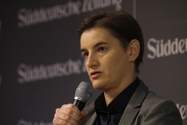 """""""Mali šengen"""" jedina šansa za brži rast i razvoj: Brnabić o stabilnijem Balkanu"""