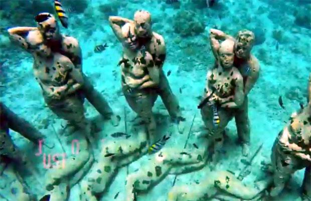 Statue na dnu mora: Mamac za turiste ili više od toga? (VIDEO)