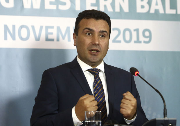 Zoran Zaev AP Photo/ Boris Grdanoski