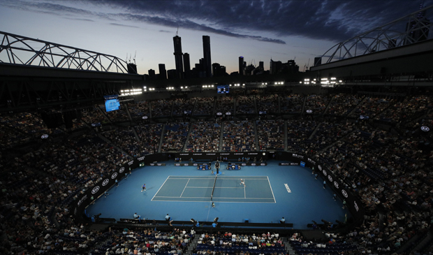 """Rod Lejver arena"" foto: AP Photo/Andy Wong"