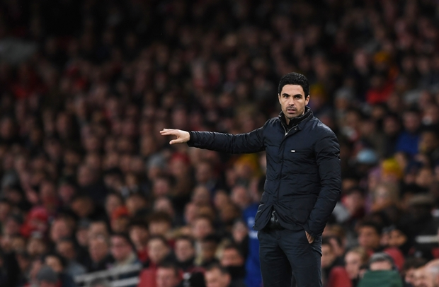 Mikel Arteta Foto: EPA-EFE/NEIL HALL EDITORIAL