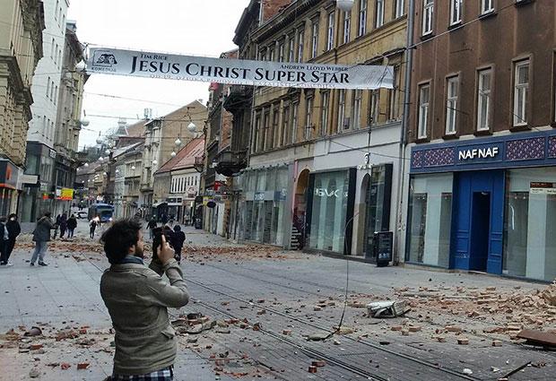 Tri Zemljotresa Potresla Zagreb Lekari Se Bore Za Zivot Deteta 15 Hitno Operisana I Jedna Zena Foto Novosti Rs