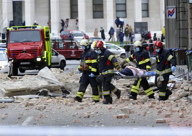Zemljotres Zagreb Udario Jace Od Korone Novosti Rs