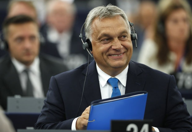 Viktor Orban u EP AP Photo