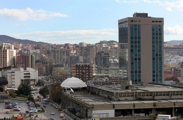 """НЕ ПРЕСТАЈУ СА ПРОВОКАЦИЈАМА: У Приштини откривена табла са натписом """"Министарство одбране Косова"""""""