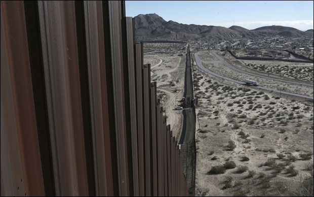 Зид на граници САД и Мексика