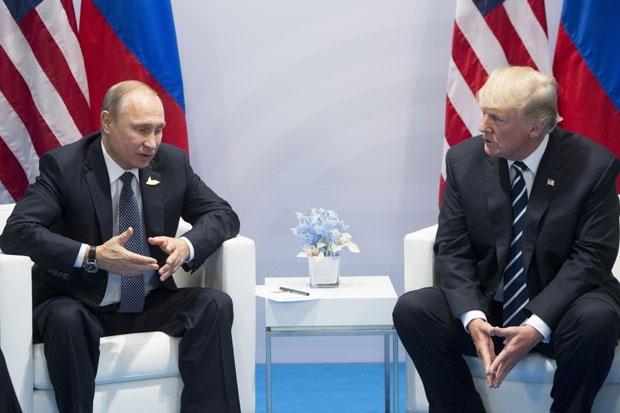 Владимир Путин и Доналд Трамп / Фото Танјуг / АП